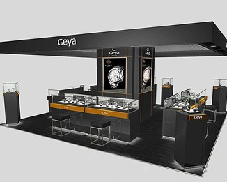 WA18 High End Watch Kiosk Design