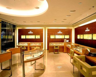 WA15 High End Watch Shop Display Cabinets