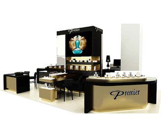 PE20 High End Shopping Mall Perfume Kiosk