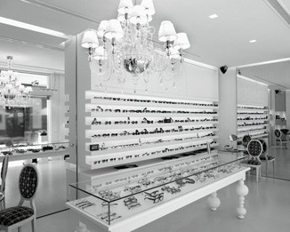OP42 New Designer Optical Shop Display