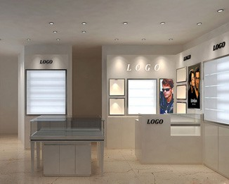 OP14 High End Eyeglass Store Design