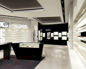 OP08 Custom Eyeglass Shop Interior Design