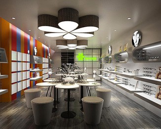 OP07 High End Eyeglass Shop Design