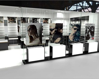 OP05 High End Eyeglass Display Case