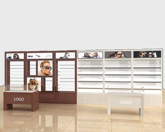 OP04 Optical Shop Display Racks
