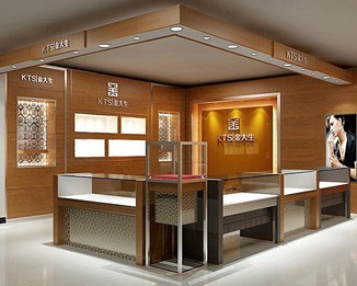 MK16 New Design Jewelry Shop Kiosk Design