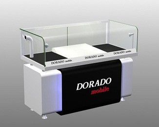 El16 High End Phone Retail Store Display Counter
