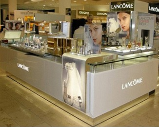 CM77 Luxury Cosmetic Brand Display Kiosk