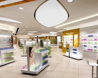 CM74 High End Cosmetic Store Display Units