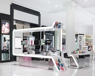 CM61 High End Cosmetic Counter Design