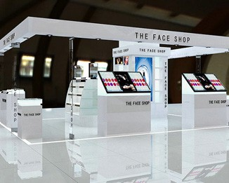 CM58 Custom Design Cosmetic Kiosks