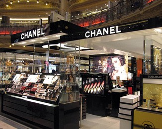 CM35 Black Chanel Mall Display Stands