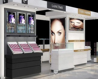 CM33 High End Cosmetic Kiosk Display Furniture