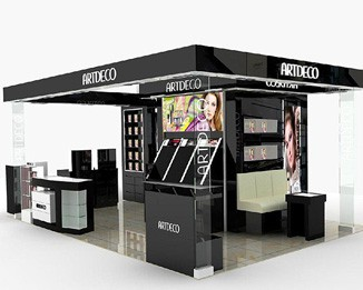CM22 Custom Shopping Mall Kiosk Design