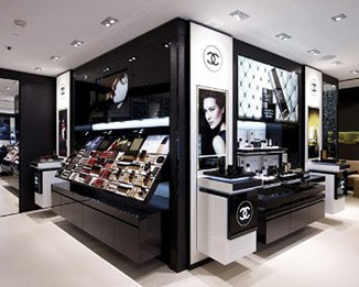 CM17 Fashion Brand Makeup Display Cases