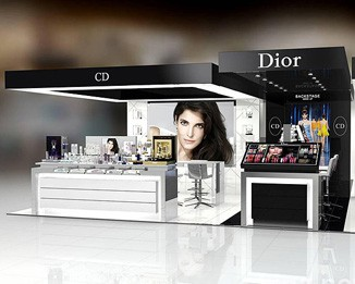 CM05 Dior Shopping Mall Kiosk Display Furniture