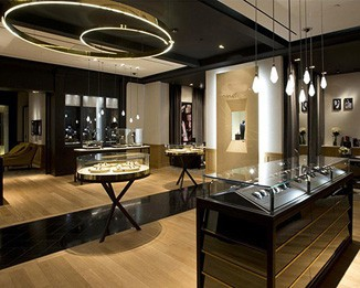 WA42 Luxury Watch Store Counters