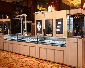 MK19 High End Jewelry Display Kiosks