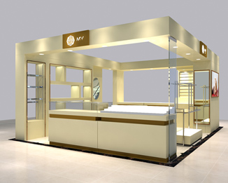 MK01 High End Mall Jewellry Display Kiosk