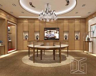 JE23 Custom New Jewelry Showroom Display Counter Design