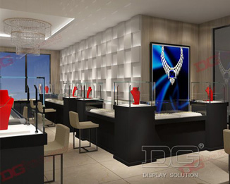 Luxury Custom Commercial Retail Display Environment