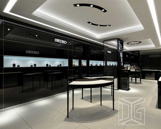 JE17 Modern High Quality Jewelry Store Showcase And Counter