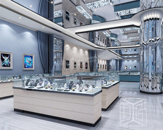 JE05 Fashion Design Jewelry Shop Layout