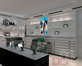 EL02 High End Mobile Shop Furniture Design