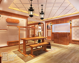 CL77 High Quality Luxury Simple Modern Decoration Retail Clothing Store Furniture