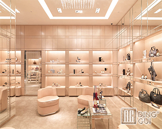 SH30 High end luxury shoe store interior  display furniture