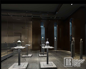 MD34 Professional custom high end best museum exhibit display cases