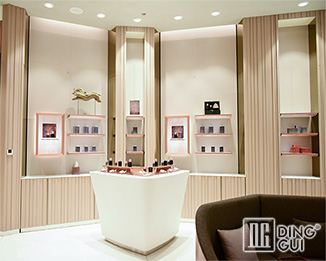 PE42 Unique design high end luxury perfume shop display counter