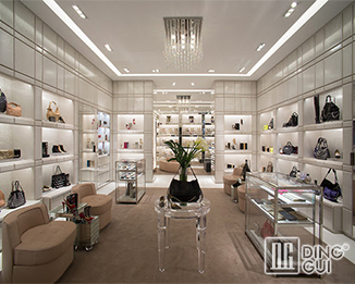 SH 36 Professional Custom Most Luxury Shoe Store Display Showcase Fixtures