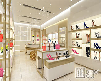SH39 Creative Design High End Luxury Shoe Shop Display Equipment