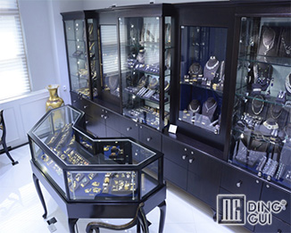 JE184 High End Luxury Jewelry Store Interior Display Showcase Design