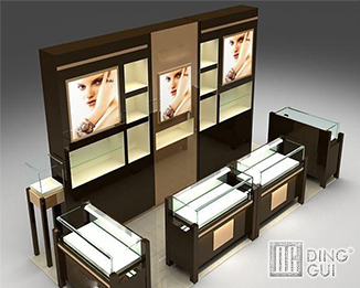 CM115 Profession Custom Design Fashion Makeup Store Display Ideas