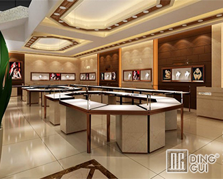 JE191 High End Luxury Jewellery Shop Display Showcase Project