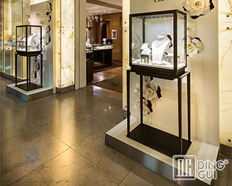 JE194 Profession Custom High End Jewellery MDF Showroom Display Showcase