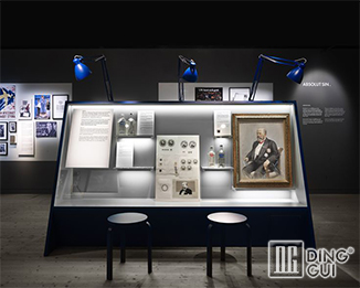 MB49 Profession Custom High End Quality Museum Display Show Case