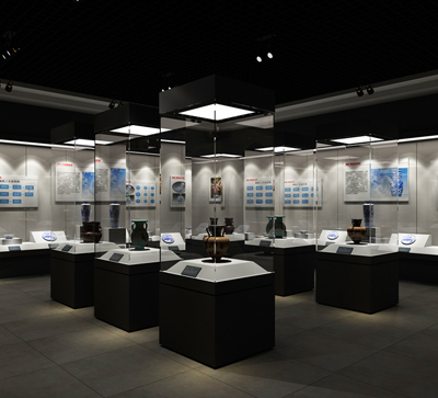 MB05 Profession Custom Design Fashion Museum Display Fixtures