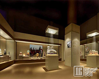 MB60 Creative Design High End  Museum Glass Display Case Design