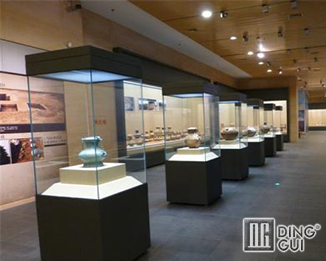 MB69 High End Safety Museum Glass Display Cabinets