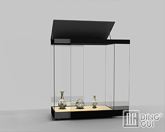 MB70 Profession Custom Modern Museum Glass Display Shelf