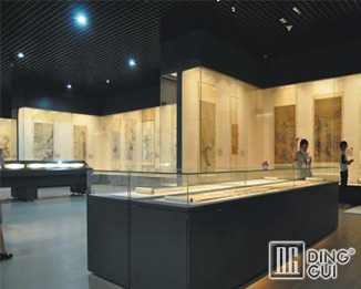 MB77 Profession Custom High End Luxury Museun Display Case
