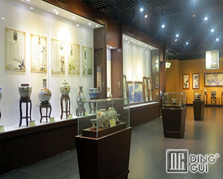 MB78 Profession Custom High End Quality Museum Glass Display Cabinets