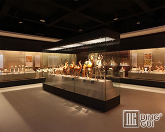 MB86 Custom High End Quality Museum Glass Display Cabinets For Sale