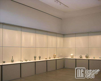 MB91 Creative Design Modern Museum Glass Display Cabinets For Sale