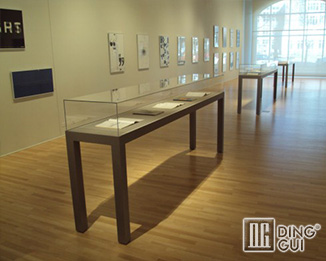 MB105 Custom High End Quality Museums Glass Display Showcases