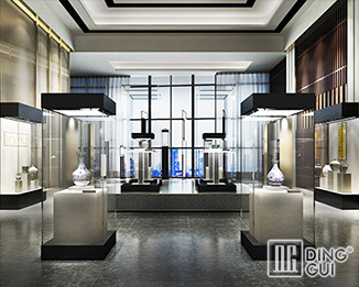 MB107 Modern  High End Quality Museum Display Showcase Manufacturers