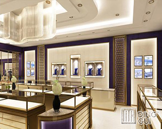 JE191 Modern High End Luxury Jewellry Display Showcase Furniture Design